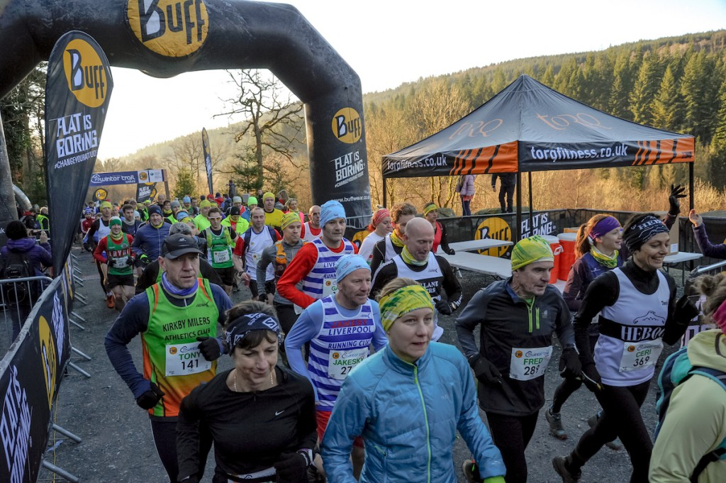 Buff Winter Trail Wales which was staged at Dolgellau in Wales, images created by Dan Wyre Photography and can found at Copyright 2017 Dan Wyre Photography, all rights reserved